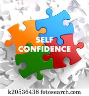 Self Confidence on Multicolor Puzzle.
