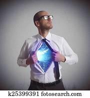 Hero of cyberspace