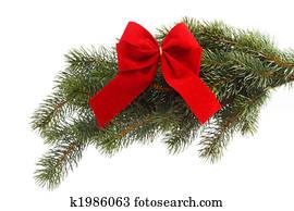 Weihnachtsbilder Tannenzweig.Nadelzweig Stock Fotograf K1897656 Fotosearch