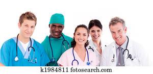 Portrait of doctors