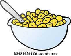 bowl cereal clipart eps images 1 227 bowl cereal clip art vector rh fotosearch com Pop Cereal Bowl Clip Art Cereal Bowl Outline