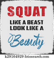 Squat Like a Beast