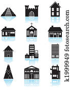 World Travel Structures Black