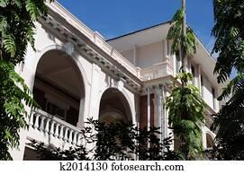 Histroic architecture structure