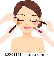 Make Up Model