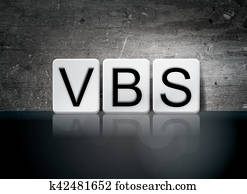 VBS Tiled Letters Concept and Theme