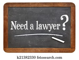 need a lawyer question