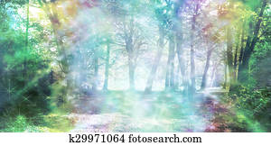 Magical Spiritual Woodland Energy