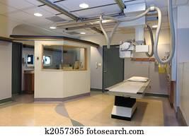 Hospital X-ray room
