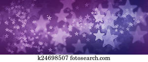Purple Starry Background for Facebook Cover Photo