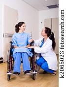 doctors helping hand