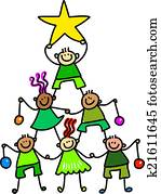 Christmas Tree Kids