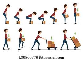 Safe handling and transportation of heavy items