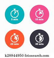 clip art of 10 and 20 minutes timer k7677479 search clipart