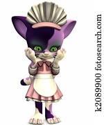 Little Maid - Toon Figure