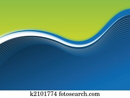 blue and green business background