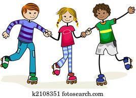 Roller Skate Kids