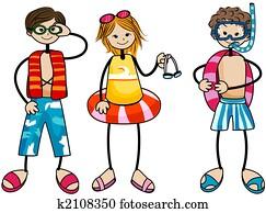 Swimming Kids