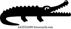 Alligator Pictogram