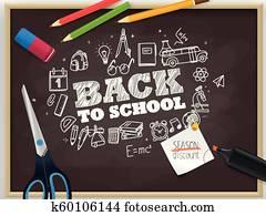 Back to school. Season discount