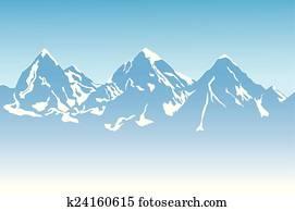 berg, hintergrund