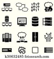 Computer, data and cloud computing