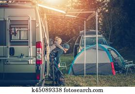 Camping Family Time