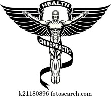 Chiropractor Symbol or Icon