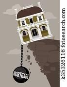 Crippling mortgage