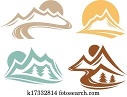 Mountain Range Symbols