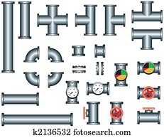 plumbing pipe construction set