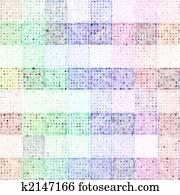 pastel squares print