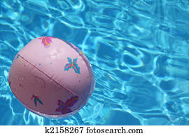 ball pool 3d chasing child drawing surface swimming into illustration fotosearch playing butterflies floating plastic pink