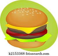 Hamburger fastfood