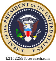 Presidential seal in color
