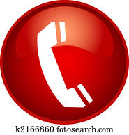 red phone button