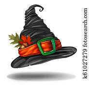 Witch Hat Halloween Autumn Clothing