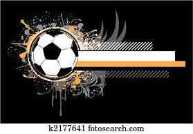 grunge, fussball, design