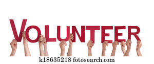 People Holding Volunteer