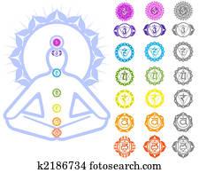 Chakras symbols