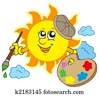 Sun artist