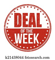Deal of the week stamp