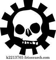 Gear Skull #3