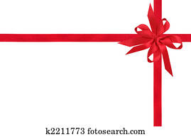 Red Ribbon Gift Box