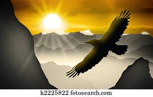 Λατίνα ιππασία μεγάλο πουλί