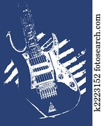 Music Guitar Illustration