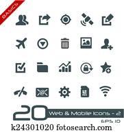 Web & Mobile Icons-2 // Basics