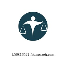 lawyer people logo and symbols business,