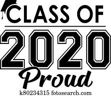 klasse, von, 2020, stolz, spruchbaender