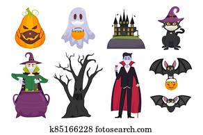 Halloween covid collection